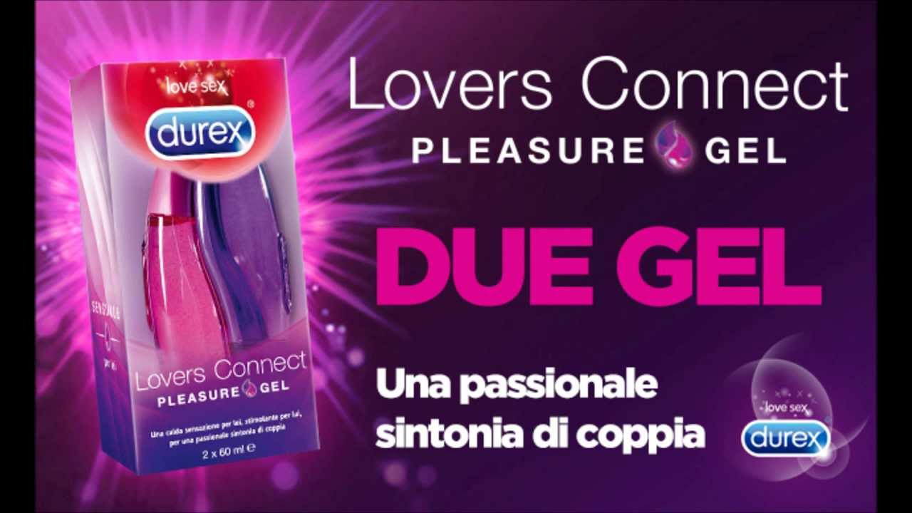 DUREX LOVERS CONNECT GEL LUBRIFICANTE PER LA COPPIA - RIMEDI SECCHEZZA VAGINALE